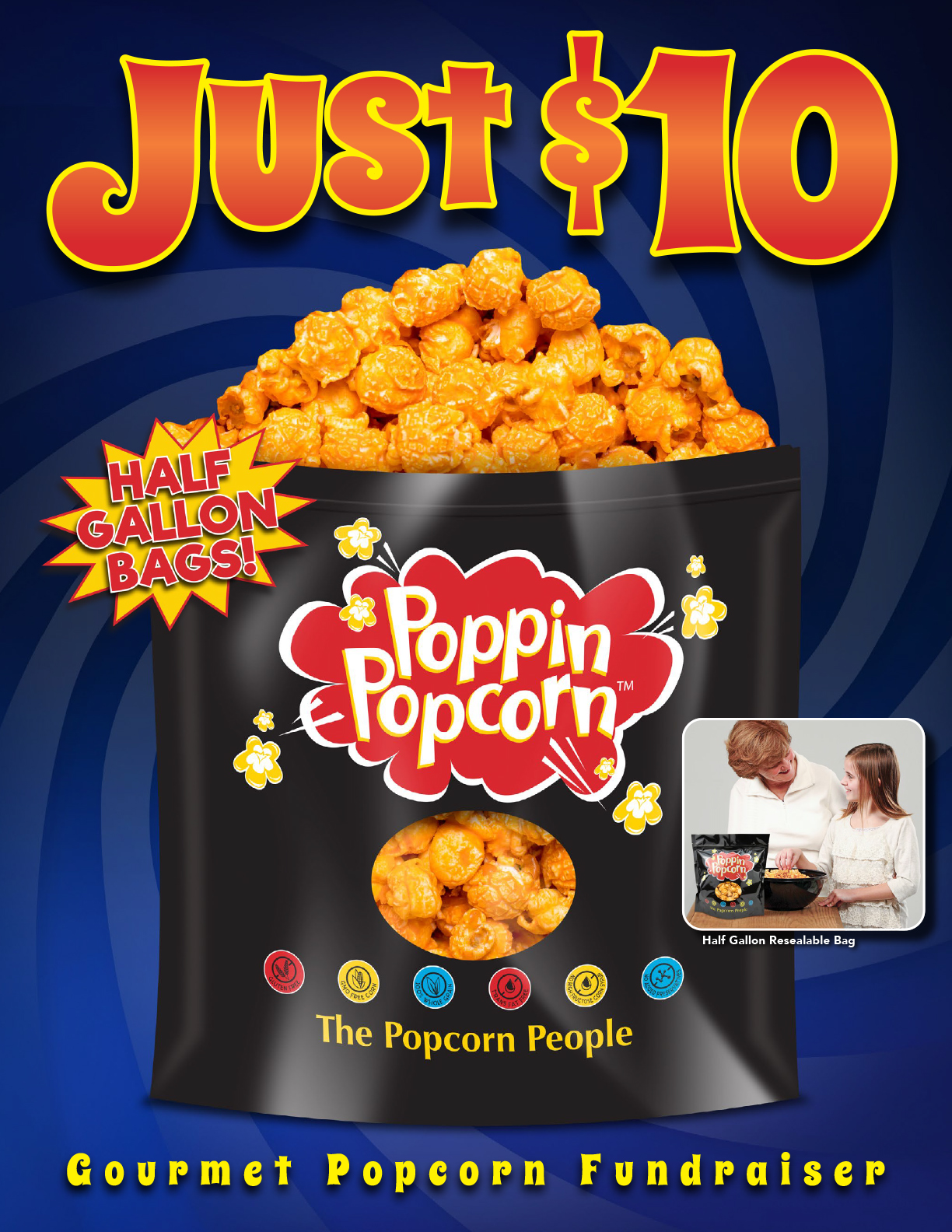 Christmas Fundraisers For Schools.Popcorn Fundraiser School Fundraiser From