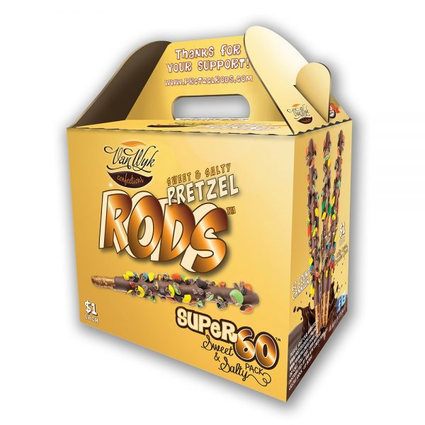 $1 Super 60 Pretzel Rods