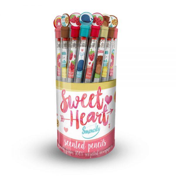 Sweet Heart Valentine's Smencils